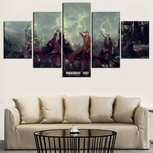 One Piece New Generation Rookies 5 Piece Canvas Wall Art