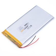 Banco de Energia 103 para Tablet Atl 6052103 3.7 V 3200 Mah Lithium Polymer Bateria Recarregável 6 MM * 52 Pc Móvel de Alimentação Diy Pad Dvd