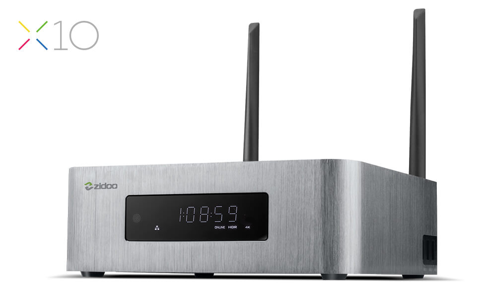 ZIDOO X10 Android6.0 TV Box Quad Core 2G/16G Dual Band WIFI OpenWRT(NAS) Dual System 1000M LAN HDR USB 3.0 SATA 3.0 Media Player original zidoo x9s smart tv box android 6 0 openwrt nas realtek rtd1295 2g 16g 802 11ac wifi bluetooth 1000m lan media player