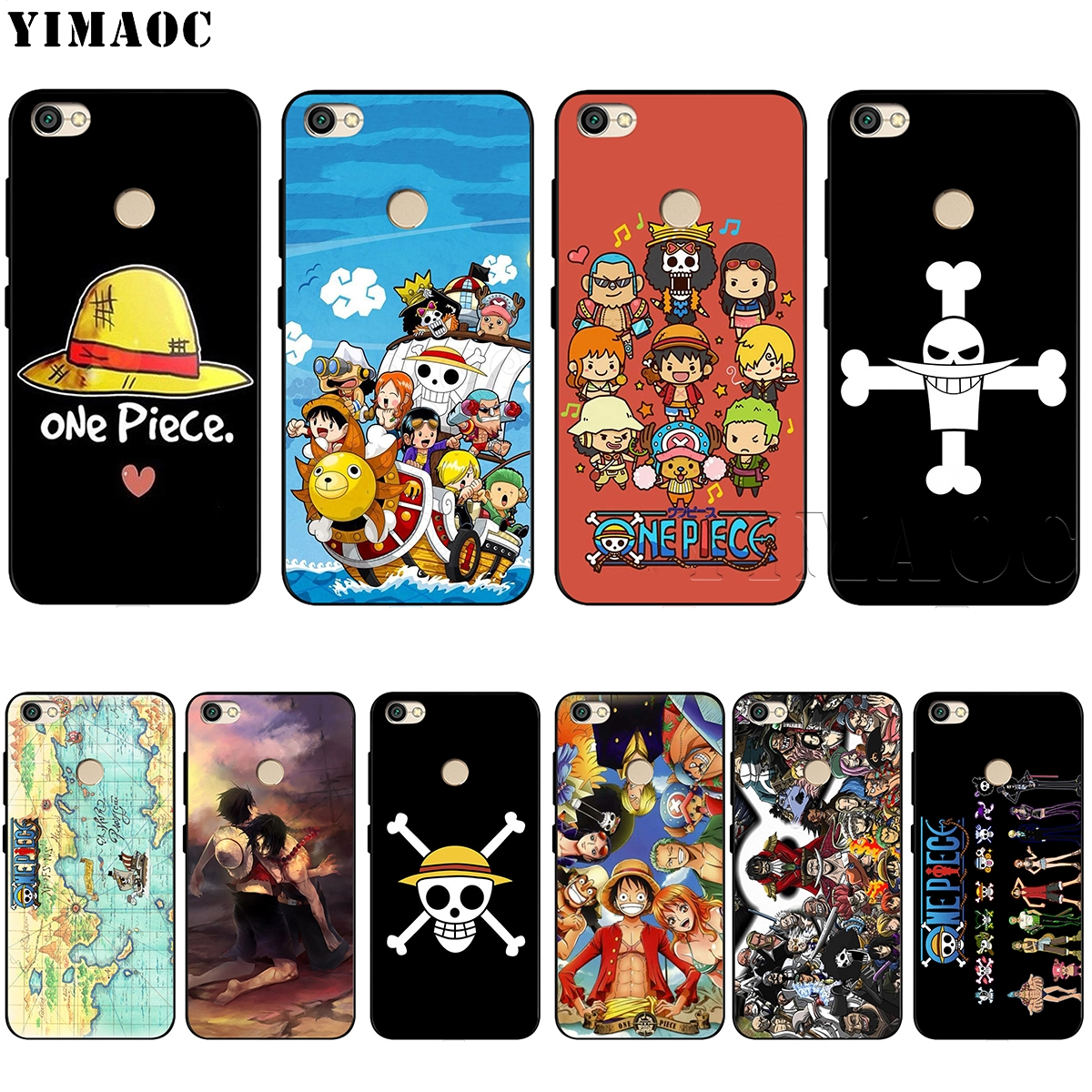 Yimaoc One Piece Silicone Case For Xiaomi Redmi Note 4 4x 4a 5 5a 6 8 Pro Prime Plus Buy At The Price Of 1 97 In Aliexpress Com Imall Com
