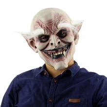 Halloween Latex Mask Horrifying With Hat For Masquerade Costume Party Bar Realistic wd02