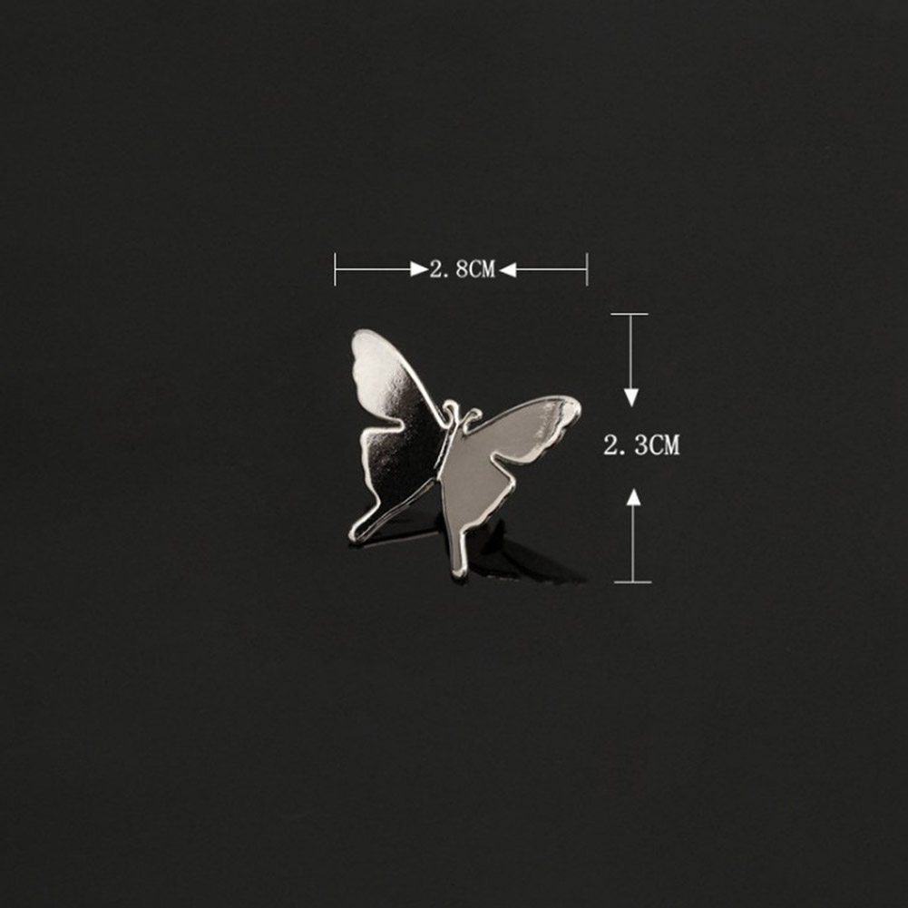 Vintage Simple Alloy DIY Leaf Plane Brooch Breastpin Gold Silver Men's Collar Lapel Pins Suit Accessories Jewelry For Women Gift 11