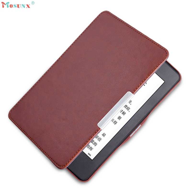 Подробнее о mosunx Hot Selling  Magnetic Auto Sleep PU Leather Cover Case For Kindle Paperwhite 2016 (7th Generation) 6 inch +Free mosunx hot selling magnetic auto sleep pu leather cover case for amazon kindle new 2016 8th generation 6 inch free gift