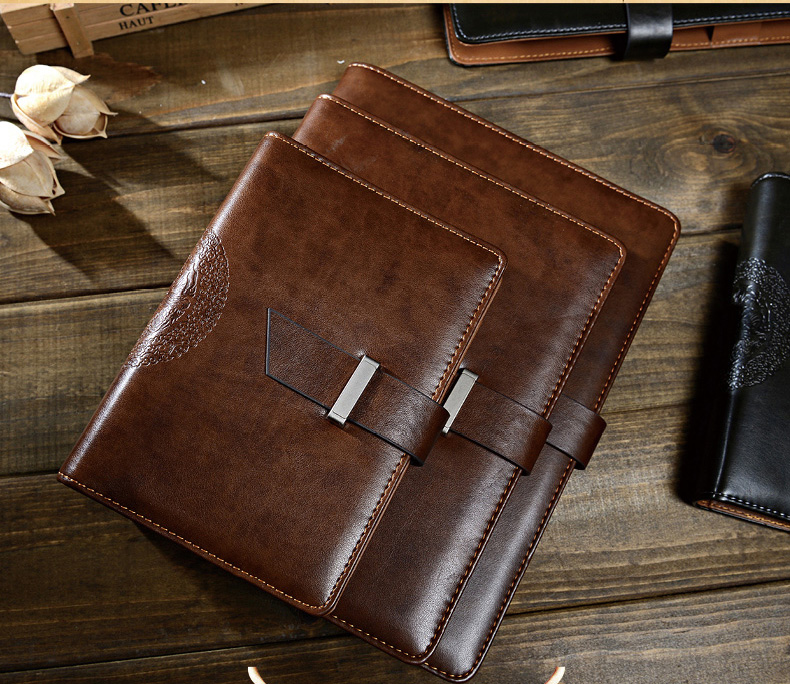 Vintage filler Notebook Paper Replaceable leather bound journal stationery 100 sheet Note Book A5 A6 B5