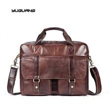 2017 new leather bag fashion leisure men Business Bag Handbag Shoulder Bag Messenger Bag man