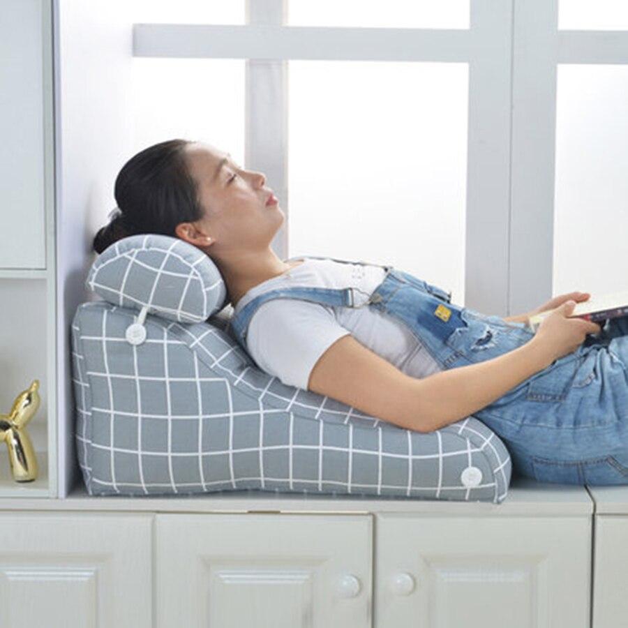 Coussins de chevet soutien lombaire oreiller bureau chaise canapé oreiller assis Cojines Decorativos Para canapé moderne décor à la maison 60KOA98