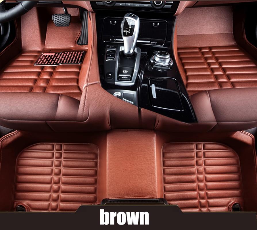 kalaisike Custom car floor mats for for hyundai all models solaris tucson 2016 2012 creta ix25 i30 i40 getz car styling hyundai getz с пробегом в питере
