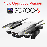 RC Helicopter With HD Camera Wide Angle Selfie Drone Palm Control Quadcopter With WiFi Camera SG700 Upgraded Version SG700s Dron