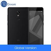 Dreami Original Global Version Xiaomi Redmi Note 4 Qualcomm 3GB 32GB Mobile Phone Snapdragon 625 Octa Core 13MP CE FCC 5.5 Inch