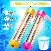 1500-2500W Floating Electric Heater Boiler Water Heating Element Portable Immersion Suspension Bathroom Swimming Pool AU/EU/UK