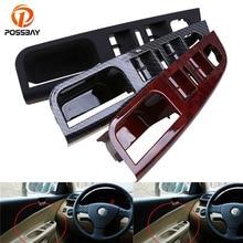 POSSBAY 1 Uds piezas de la puerta Interior del coche para VW Golf 5 interruptor de la ventana de la puerta principal Panel de Control bisel de ajuste 1K4868049C estilo del coche