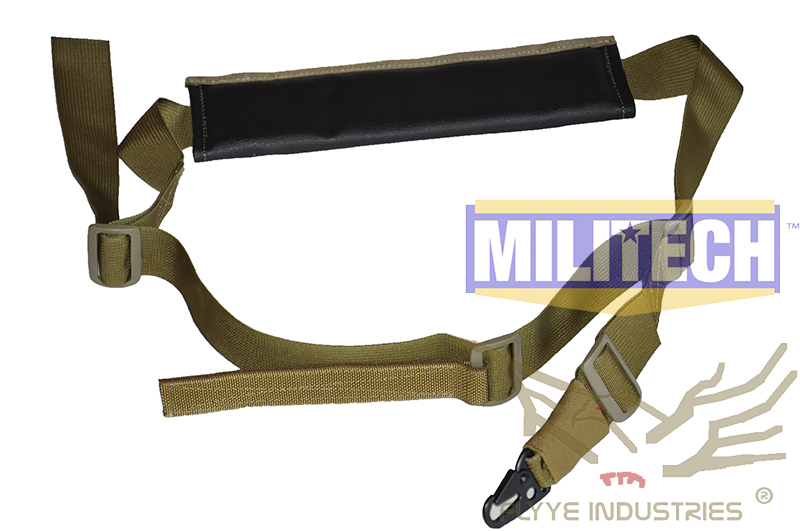 MILITECH Military Spec Ranger Green RG Tactical Rifle Single Point Gen 2 Sling FLYYE FY-SL-S005 Single Sling Version II Harness
