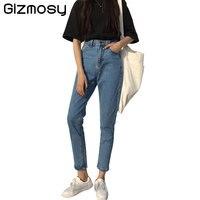 1 PC Jean Denim Jeans Kobiety New Vintage Wysoka Talia Haren spodnie Sexy Szczupła Elastyczne spodnie Skinny Spodnie Farbują Spodnie Lady Jeans SY1823