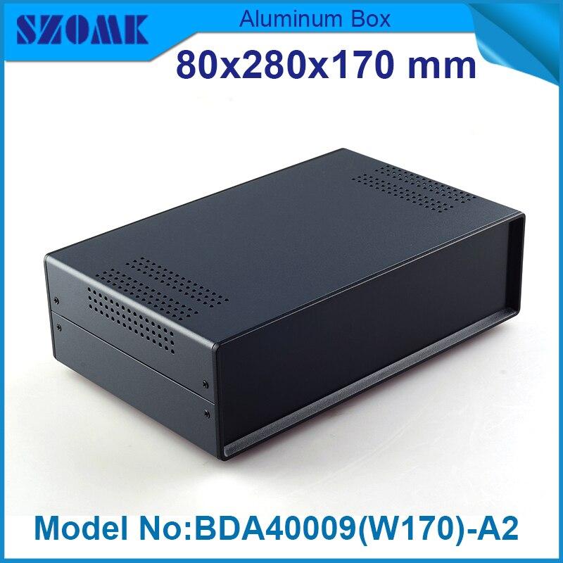 4 pcs/lot iron amplifier enclosure diy switch box79x279x170 mm instrument enclosures