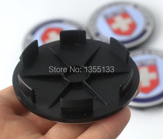 40pcs 68mm No Logo Universal wheel center hub caps Black Cover clip 62mm/2.43 inches for HRE wheels-in Hub Caps from Automobiles & Motorcycles    3