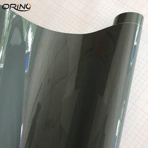 Image 4 - Cement Grey Ultra Gloss Vinyl wrap cement Glossy Nardo Gray Car Wrap Film Coveres with air Free 10/20/30/40/50CMX152CM