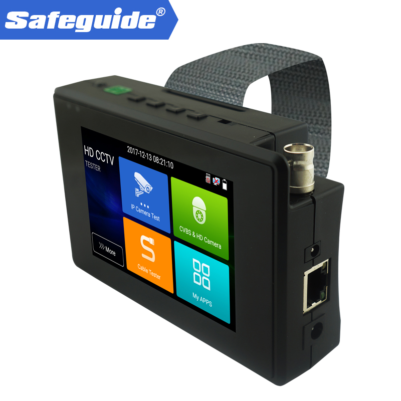 Новый 4 наручные 4 К H.265 IP CVBS CVI TVI AHD 5 в 1 IPC 1800ADH плюс CCTV тесты er Тесты Wi Fi ip камера