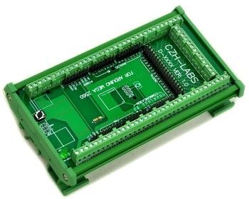 DIN Rail Mount Vis Bornier Adaptateur Module, Pour MEGA-2560 R3.