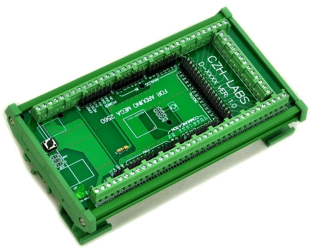 Модуль адаптера винтовой клеммы с креплением на din рейку, для MEGA 2560 R3.|terminal block|din rail terminal blockterminal block din rail | АлиЭкспресс