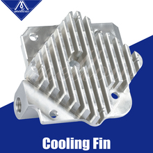 Free shipping 3D printer parts accessories Upgrade Titan Aero Heatsink 1.75mm/3mm for extruder V6 Hotend Reprap