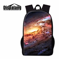 Dispalang Branded Backpack At Lowest Price Print Universe Pattern Design Your Own Bookbag Hot Boys Daybag
