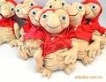 Горячие Продажи Аниме ET Плюшевые Игрушки Куклы 25 см Kawaii ET Внеземной Куклы с Одеждой Милые Плюшевые детские Игрушки