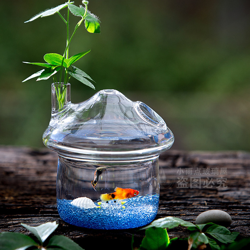 Online buy wholesale small goldfish tank from china small for Eco fish tank