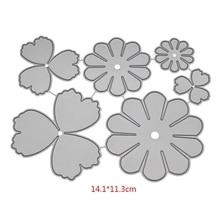 Flower Cutting Dies Stencil For DIY Scrapbooking Embossing Album Paper Craft Folder