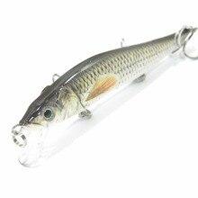 wLure Minnow Crankbait Hard Bait Tight Wobble Slow Sinking Jerkbait Lifelike RealSkin Painting  Fishing Lure HM262S