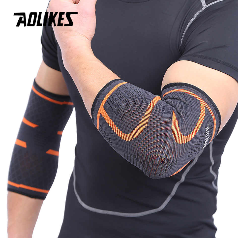 Elbow Support Elastic Gym Sport Elbow Protective Pad 1