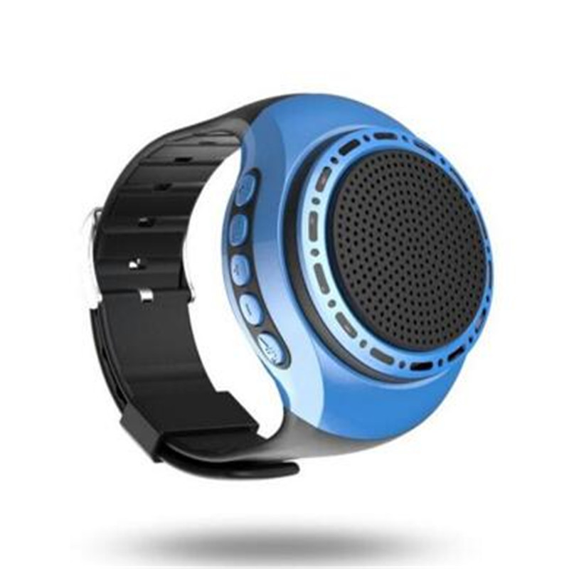 Speakers Adaptable 10pcs/lot Super Bass Wireless Wristband U6 Bluetooth Speaker Smart Watch Sport Music Player Call Playing Fm Radio Self-timer Relieving Rheumatism