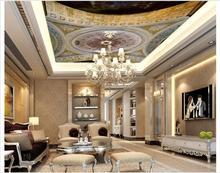 Massgeschneiderte 3d Wallpaper Decke Tapete Wandmalereien Dome Zenit Blume Board Hintergrund Dekoration