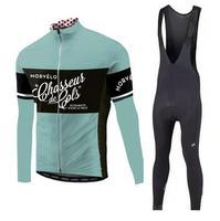 2019 Pro team Morvelo с длинным рукавом Велоспорт Джерси брюки для девочек Комплект Одежда для велоезды велосипед майки велосипедный спорт одежда