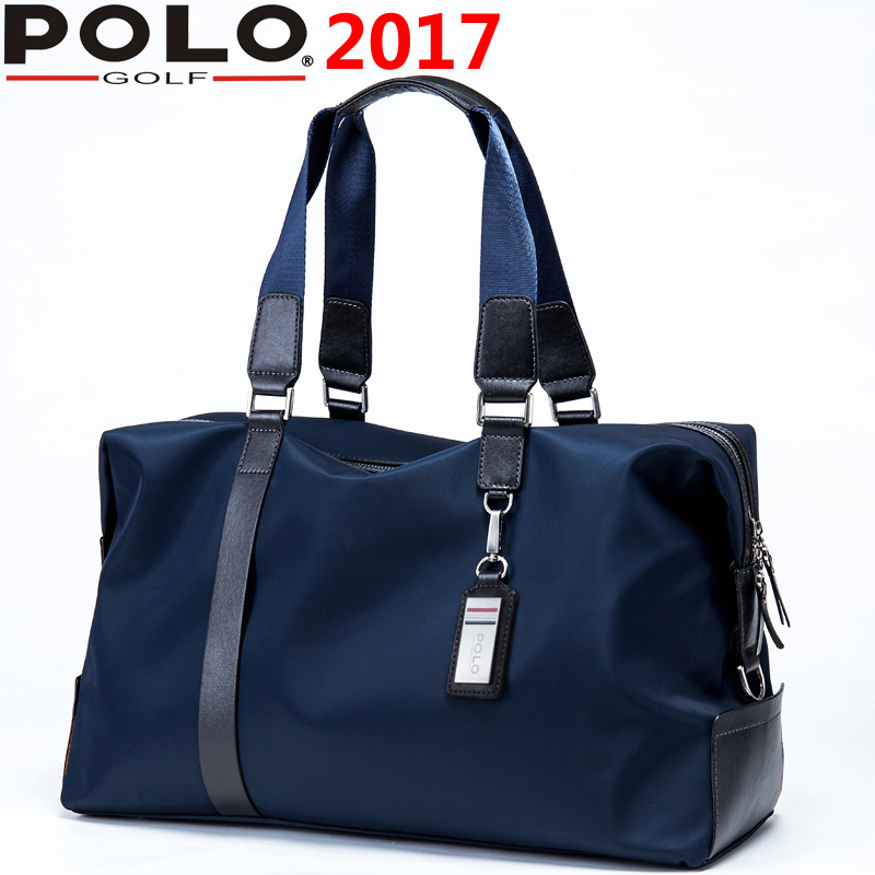 все цены на Brand Polo Genuine New Bag Men Clothing Big Capacity Light Computer/Travel/Leisure Sports Bag Portable Golf Ball Package Handbag онлайн