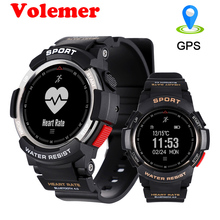 Volemer Multi Sport Modes Outdoor Bluetooth Smart Watch F6 IP68 Waterproof Heart Rate Sleep Monitor Remote Camera GPS SmartWatch