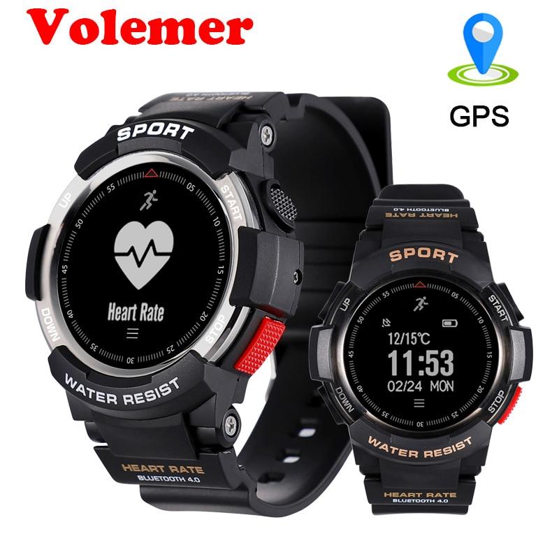 Volemer Smart Watch F6 Multi Sport Modes Outdoor Bluetooth IP68 Waterproof Heart