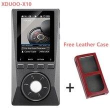 XDUOOX10 Alta Resolución Lossless DSD HiFi reproductor de música mp3 Reproductor de Música Soporta Salida Óptica DAP Reproductor de MP3 Funda de Piel Libre
