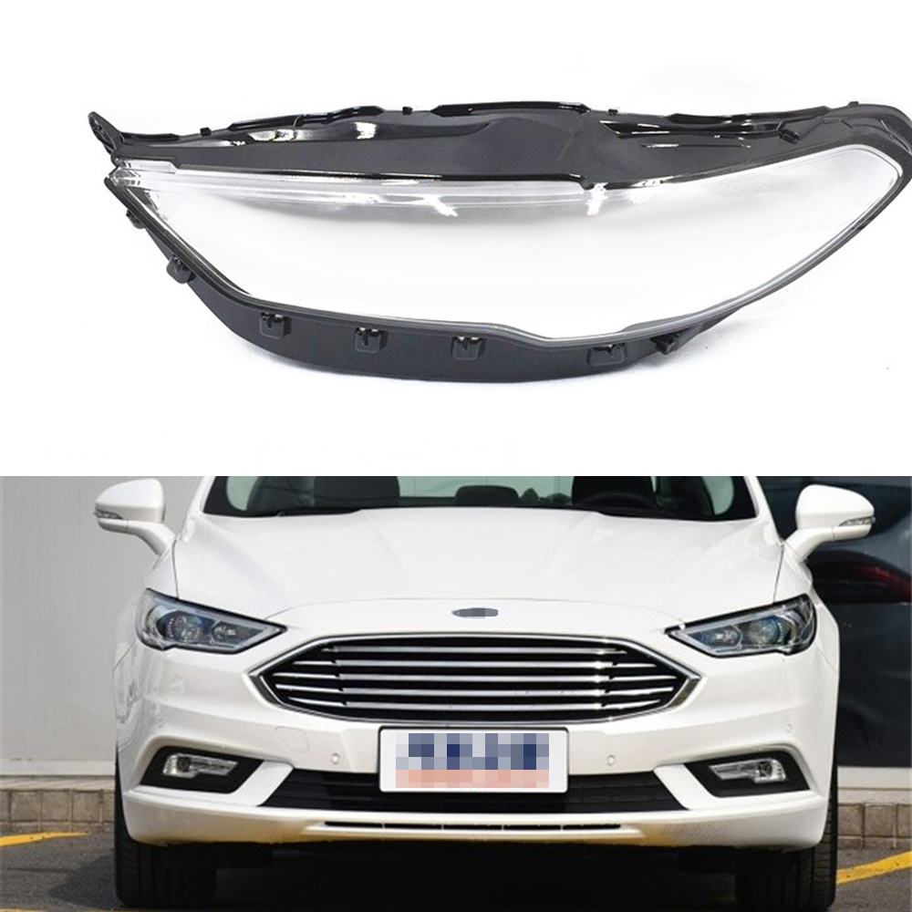 For Ford Mondeo 2017 2018 Car Headlamp Clear Lens Transparent Auto Headlight Shell CoverFor Ford Mondeo 2017 2018 Car Headlamp Clear Lens Transparent Auto Headlight Shell Cover