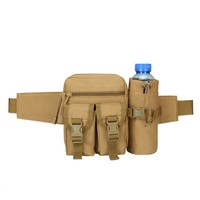 Military Tactics Pack MOLLE Outdoor Travel Sports Bag Pocket Style Aquarius Belt Mini Bag