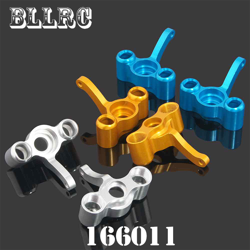 HSP RC Car 166011 Aluminum Aolly Metal Steering Hub (L/R) 06043 1/10 Upgrade Parts For 94155 94166 94177