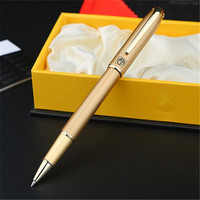 1pc Lot Gold Picasso 916 Roller Ball Pen Malaga Canetas Brand Pen Ball Pens Gold Clip