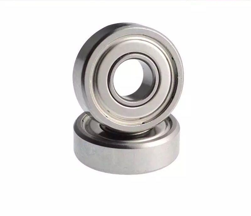 "5 PCS 3//8/"" X 7//8/"" X 9//32/"" Metal Shielded Ball Bearing Bearings R6 R6z R6ZZ"
