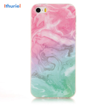 ithuriel For Iphone SE 5 5s 4 4s Case Marble Pattern Cobble Flexible TPU Slim Fit Cover cases