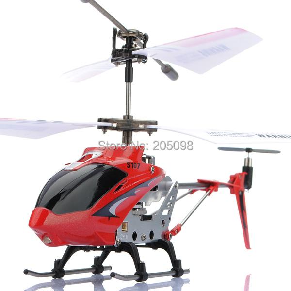 SYMA S107G metal mini 3.5CH helicóptero modelo de RC brinquedos com giroscópio de Controle Remoto Helikopter 100% Frete Grátis originais