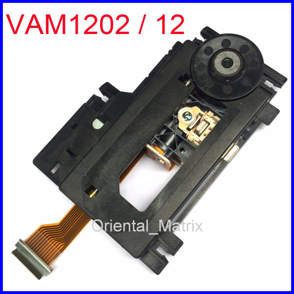 Original VAM1202/12 VAM-1202 Mecanismo Optical Pickup CD VCD Laser Lens Assembléia Para CDM12.1 CDM12.2 Optical Pick-up