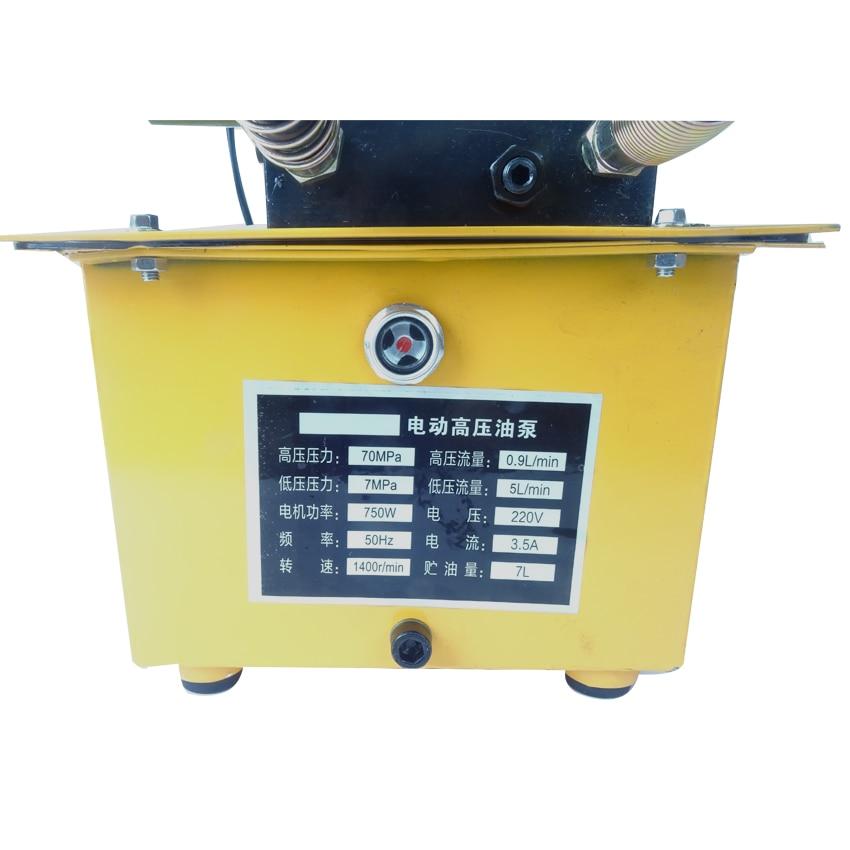 1ks vysokotlaké dvojčinné elektrické hydraulické čerpadlo - Elektrické nářadí - Fotografie 5