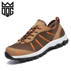 DQG Men's Camping Hiking Shoes