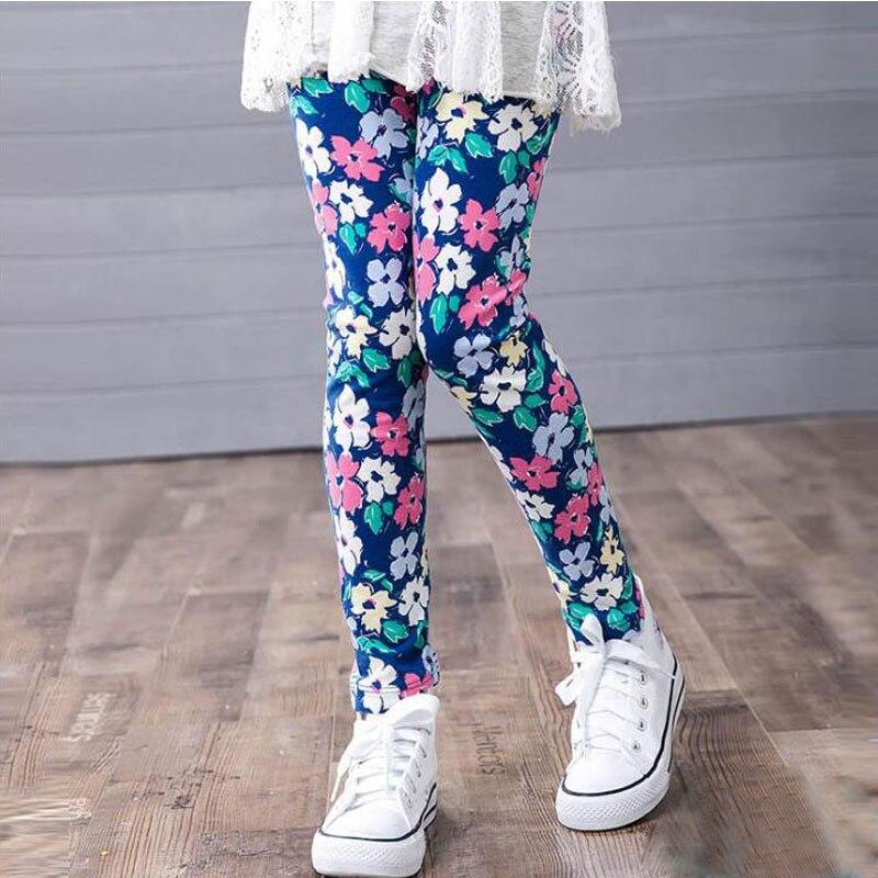 VEENIBEAR Summer Skinny Girl Leggings Elastic Comfortable Baby Girl Pants Kids Children Leggings Baby Clothes 2-13 T