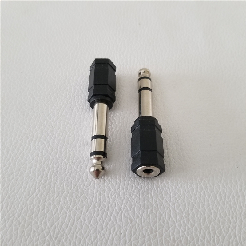 Keyboard Electric Piano 6.5mm To 3.5mm Adapter Converter Electronic Drum Plug Headphone Adapter Jack