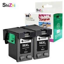 SHIZHI 56XL картридж совместимый для HP 56 57XL HP с чернилами HP Deskjet серия 220 450CI 5550 5552 7150 7350 7000 2100 2200 принтер